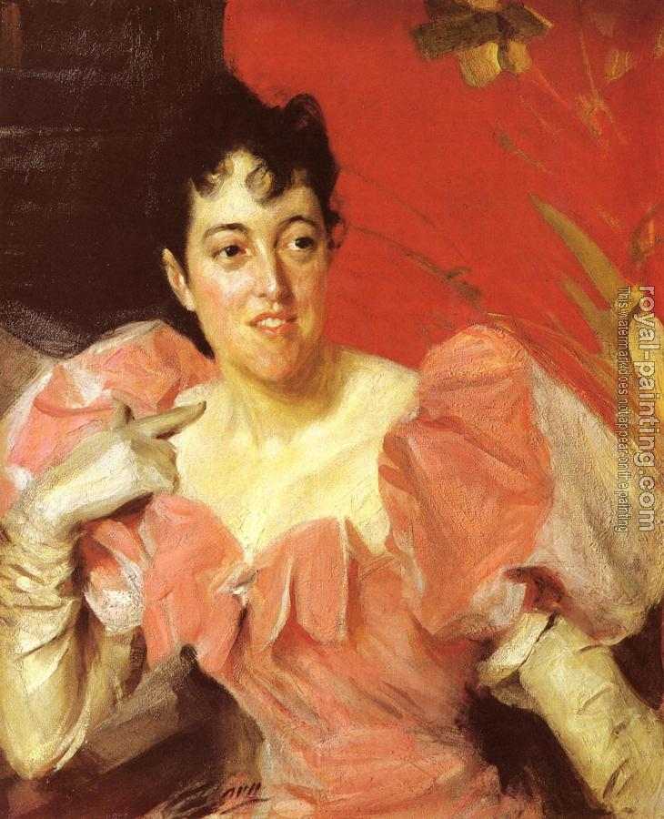 Anders Zorn : Mrs Walter Bacon
