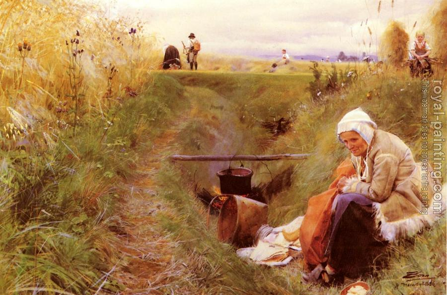 Anders Zorn : Our daily bread
