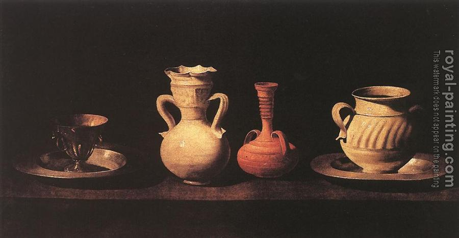 Francisco De Zurbaran : Still-Life