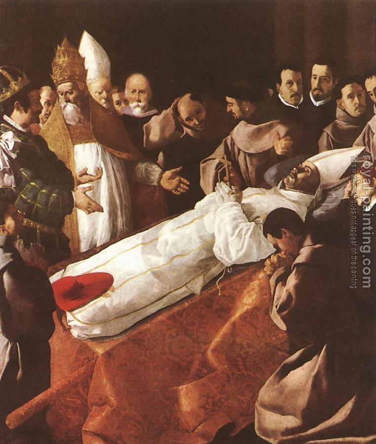 Francisco De Zurbaran : The Lying-in-State of St Bonaventura