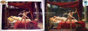 Handmade oil painting reproduction