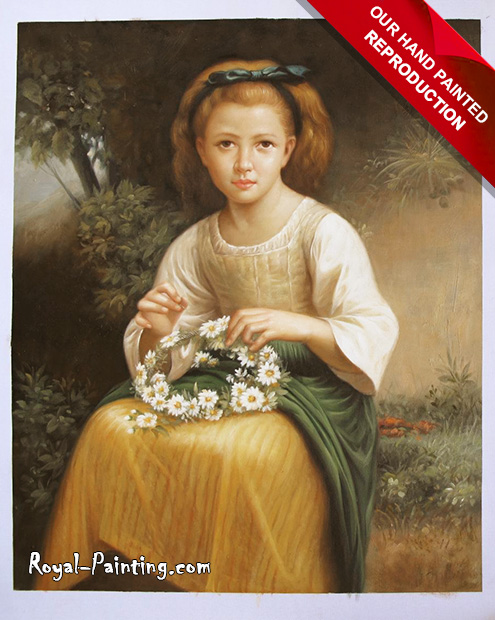 Hand Painted Oil Painting on Canvas : Children
