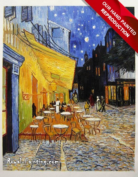 Vincent Van Gogh Cafe Terrace : Landscapes
