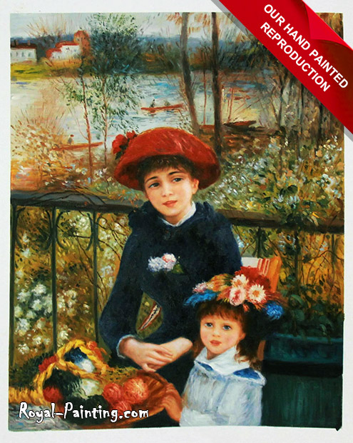 Pierre Auguste Renoir oil painting : Children